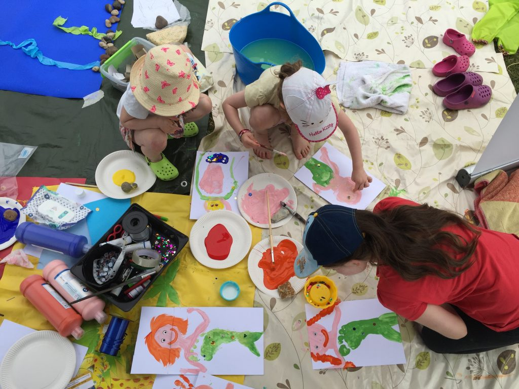 messy play session